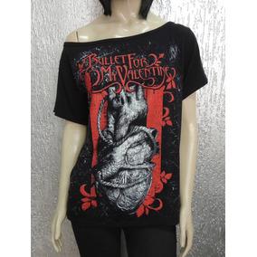 Camiseta Feminina De Banda - Bullet For My Valentine