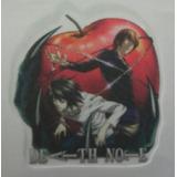 Death Note. Parches - Apliques Sublimados P