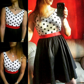 Vestido Retro Pin Up Rockabilly Original!!!