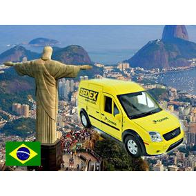 Ford Transit Sedex Correios Brasil 1/43 Correios Do Mundo