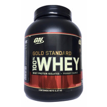 Proteina On Gold Standard 5 Lb (74 Srvs ) Chocolate.