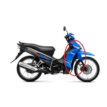 Carenagem Frontal Crypton 115 Azul Original Yamaha