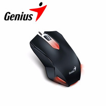 Mouse Gamer Genius X-g200 Usb Com Led Vermelho Lançamento