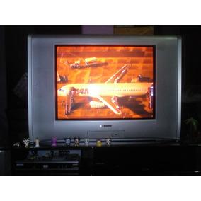Tv Sony 21 Pl Wega. C/ Conversor Digital.; Abaixou