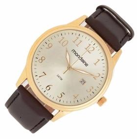 Relógio Mondaine Análogo Social Calendário 83284gpmvdh1