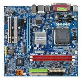 Placa Madre Socket 775 C/procesador + 2gb Ram Ddr2