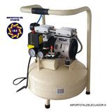 Compresor Odontológico Silencioso 550 Watts 15 Litros ¾ Hp