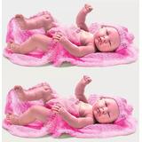 Kit 2 Bebê Coleção Bebês Anjo Molde Para Reborn Barato