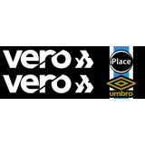 Patch Patrocínios Vero Iplace Camisa Grêmio Tricolor 2018