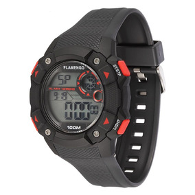 Relógio Masculino Technos Flamengo Digital Fla1360b/8p
