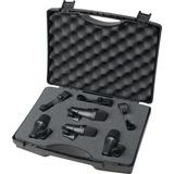 Set Con 4 Microfonos Para Bateria Digital Reference Drdk4