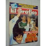 El Grafico Nº 3585 - Racing Club Campeòn Supercopa 1988.