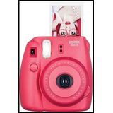 Cámara Fujifilm Instax Mini 8 Roja + 20 Fotos