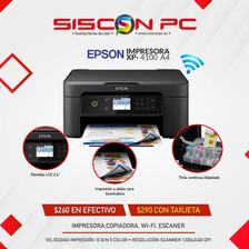 Impresora Xp4100 Con Sistema Adaptado Wifi Mejor Q L3150