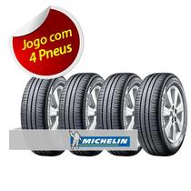 Kit Pneu Aro 16 Michelin 195/55r16 Energy Xm2 87v 4 Unidades