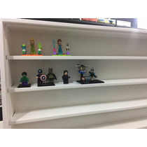 Estante Expositor Bonecos Lego Coleções Miniaturas