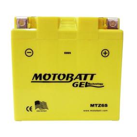 Bateria Gel Moto Cbr 1000rr Fireblade Motobatt Mtz6s 6ah 85