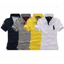 Camisa Polo Ralph Lauren Slim Fit Masculino - Original
