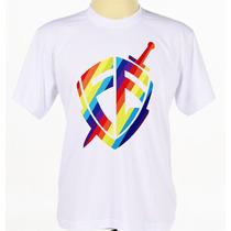 Camisa Camiseta Escudo Fé André Valadão Gospel Evangélica