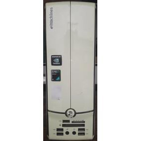 Computador Moderno Minicpu Athlon64 Ram 4gb 160gb Lcd19 Ws