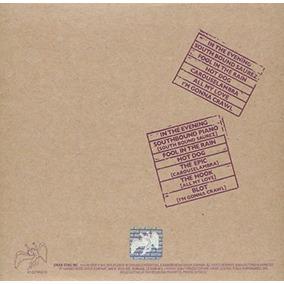 Cd Led Zeppelin Remasters M 250 Sica En Mercado Libre Argentina