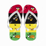 Chinelo Angry Birds Personalizados