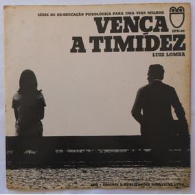 Luiz Lomba Vença A Timidez - Lp Vinil