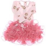 Vestido Infantil Gatinho Mini Miss Primeiro Passo