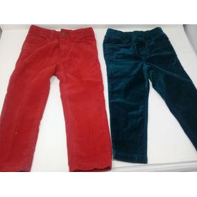 Jeans De Pana Tea Y L.o.g.g. Rojo Y Verde. La Segunda Bazar