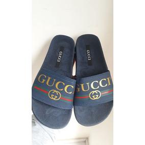 711613c9db579 Chinelo Sandalia Gucci Masculino - Chinelos para Masculino Preto no ...