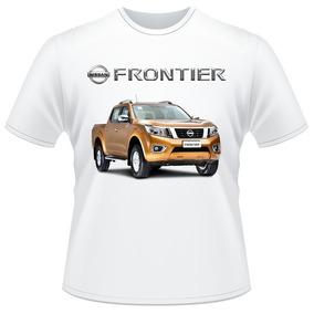 Camiseta Carro Nissan Frontier Pickup 4x4 Camisa