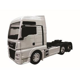 Réplica Cavalo Carreta Truck Man Tgx 26.440 Mini1/32 Branca