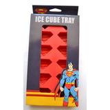 Cubeta Diseño Superman Para Hacer Hielo- Ice Cube Dc Comics