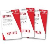 Tarjeta De Regalo Netflix