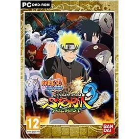 Naruto Shippuden Ultimate Ninja Storm 3 ( Mídia Física ) Pc