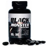 Black Monster Tribulus Terrestris 1g Com Maca Peruana