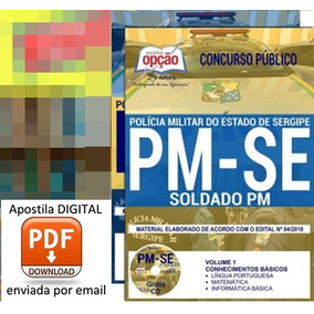 Apostila Para Soldado Pm | Concurso Pm Se 2018