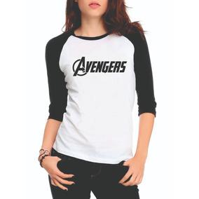 Camisa Vingadores 3 - Camisetas e Blusas Manga Curta para Feminino ... c55d6c096a2dc