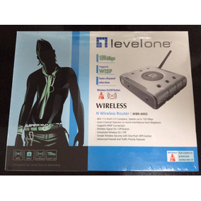 Roteador Wireless Levelone Wbr-6002 -150mbps