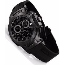 Relógio Tissot T-race Moto Gp Branco / Preto / Rose /