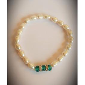 Pulsera Perlas Naturales De Río-joyas Mujer Regalo
