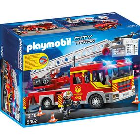 Playmobil Bomberos Camión Con Luces Y Sonido 5362 4-10 Años