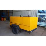 Compressor Ar Parafuso 250 Pcm 8 Bar Atlas Copco Diesel Mwm
