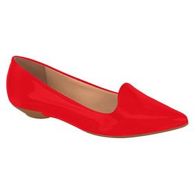 73786eae9b Sapatilha Bico Fino Preta Vizzano - Sapatos Vermelho no Mercado ...