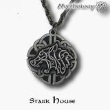 Stark House Colgante /cadena Game Of Thrones