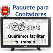 Nomina, Contabilidad, Prestaciones, Ivss, Inventario Y Mas