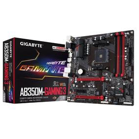 Motherboard Am4 Gigabyte Ab350m-gaming 3 Gaab350mgaming3