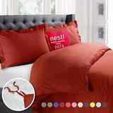 Nestl Bedding Funda Nórdica, Protege Y Cubre Su Edredó K36