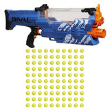 Nerf Rival Nemesis Pistola Lanzador Motorizada 100 Pelotas