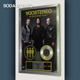 Cuadro Soda Stereo Me Veras Volver + Hits Cd Estilo Platino